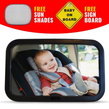 LUSTERKO BABY SAFETY MIRROR
