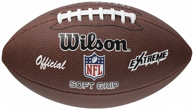 WILSON NFL OFICIAL EXTREME SOFT GRIP FOOTBALL